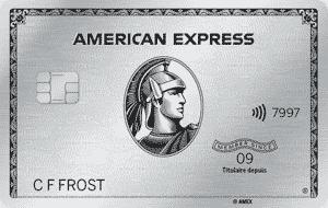 Carte de PlatineMD d'American Express