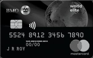 BMO WORLD ELITE MASTERCARD